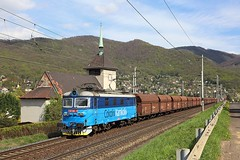 122 002, Vaňov, 14 April 2017 (Mr Joseph Bloggs) Tags: usti nad labem vanov vaňov train treno bahn railway railroad 122 002 122002 freight cargo merci czech vlak cd ceske drahy