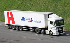 DK14KYV Moran Logistics MAN (Transport Pixels) Tags: moranlogisitcs moran m62 daf truck lorry wagon