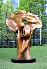 Fortuna (R~P~M) Tags: art sculpture bronze fortuna helaineblumenfeld canarywharf london england uk unitedkingdom greatbritain