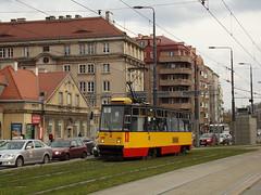 Konstal 105Na, #1222, Tramwaje Warszawskie (transport131) Tags: tram tramwaj tw warszawa ztm warsaw konstal 105na