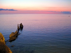 IMG_8517 - cala rossa (molovate) Tags: calarossa panorama tramonto tafme terrasini favarotta rosso barca ildorsodeldrago volate mare paesaggio