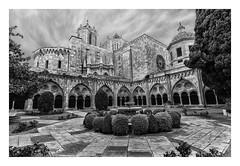 CATEDRAL DE TARRAGONA ( Cataluña-España ) (RAMUBA) Tags: catedral seo tarragona cataluña españa gotico gothic bw
