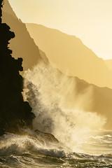 /splaSH/ VIII (IanLudwig) Tags: bluebluetravel vsco sony ilce7rm2 sonyilce7rm2 a7rii sonya7rii sonyalpha sonyalphaa7rii hawaii kauai surf beach beaches aloha clouds reef sand napalicoast sunset waves canon70200mmf28lisusmii