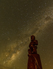 Guarding the skies (lizcaldwell72) Tags: sky hawkesbay celestialcompass milkyway napier newzealand