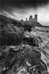 Reculver 25-03-2016 (Child of Rarn) Tags: buildings countryside coast d7000 heritage history kent landscape monochrome nature parks seaside tokina111628