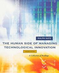 The human side of managing technological innovation (Biblioteca da Unifei Itabira) Tags: capa livro março 2017