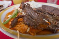 Mazunte town bistek Mexico