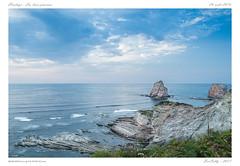 """Hendaye - """"Les deux jumeaux"""" (BerColly) Tags: france aquitaine paysbasque hendaye ocean paysage landscape seascape ciel sky nuages clouds bleu blue deuxjumeaux bercolly google flickr"""