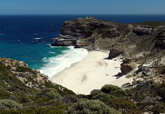 Beach next to Cape of good hope