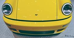Ruf face (jeremydeluc) Tags: porsche ruf ctr 964 replica yellow genève 2017