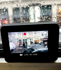 Hero 5 in action (pandeesh89) Tags: go pro hero 5 black sf soma photos iphone apple rainy day muni from inisde local office going morning timr mar 2017 friday