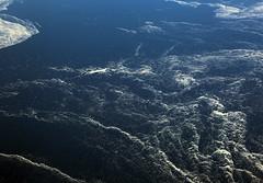 2017_04_10_lhr-ewr_025 (dsearls) Tags: 20170410 aerial windowseat windowshot united unitedairlines ual ua17 lhrewr ocean blue white ice icebergs patterns aviation flying longhaul flight north newfoundland grandbanks