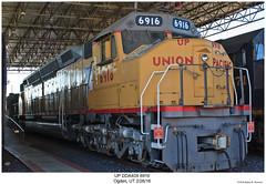 UP DDA40X 6916 (Robert W. Thomson) Tags: up unionpacific emd diesel locomotive 8axle dda40x train trains trainengine railroad railway ogden utah