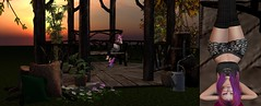 Washing the Sunset! The Wash Part 2 (Ashley Densu) Tags: thewash moon luxeboxmarch luxebox goddess kitty lowprimliving lpl vicariousyouth ecdesigns lona catwa bento sunset 3d 3dphotography 3dart