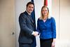 Jorge Toledo se reúne con la secretaria de Estado de asuntos europeos de Eslovenia, Sanja Stiglic