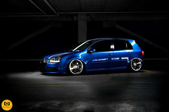 IMG_1482 (Fitment Photography) Tags: vw volkswagen airride bagged r32 mk5 stance lowered lowlife slammed fitment camber lightpainting 3sdm wheels