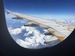 above the Alps (Hayashina) Tags: wing aeroplane flight windowseat alps