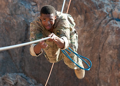 Arkansas National Guard (The National Guard) Tags: arkansasnationalguard soldier cjtfhoa training frenchdesertcommandocourse arkansas ar arng mountain obstacle french desert commando course djibouti africa rope djibouticity dj ng nationalguard national guard guardsman guardsmen soldiers airmen airman us army air force united states america usa military troops 2017