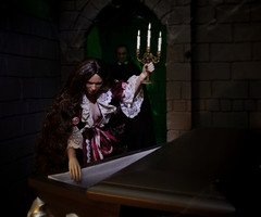 (2) Don't Go in The Cellar! (MiskatonicNick) Tags: phicen hottoys babydoll headsculpt spooky diorama playscale 16 sixthscale
