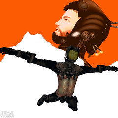 Aaron (Tammy-Jones (accepting clients and critique)) Tags: sl secondlife scifi sciencefiction sf spacesuit freefall