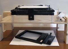The Darkroom pinhole enlarger (wheehamx) Tags: pinhole enlarger darkroom wide angle 10x8 4x5 8x10 5x4