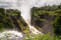 Top of Victoria Falls (sillie_R) Tags: fall falls nationalpark river victoriafalls zambezi matabelelandnorthprovince zimbabwe
