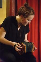 Radie Peat (2017) 03 (KM's Live Music shots) Tags: folkmusic ireland irishfolk radiepeat dipperconcertina angloconcertina concertina cellarupstairs calthorpearms