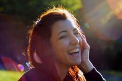 Gabriella (~Miel) Tags: girl ragazza ritratto smile sorriso afternoon light portrait nikon nikond5200 af70300mm lensflare roma rome italy italia youth giovinezza giovanedonna donna europe beauty