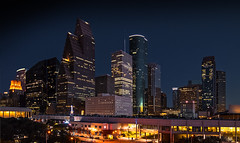 One night in Houston, TX © ® (The city guy ☺) Tags: austin texas city cityscapes nightphotography walking walkingaround architecture travelling colors cityscape structure