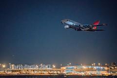 DSC03197 (montusurf) Tags: qantas dfw airport dallas fort worth texas night takeoff departure airbus a380 dark