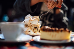 guilty (ewitsoe) Tags: cake sweets eat dine fork had eating cheesecake cakes coffee afternoon sweettooth ciasto poznan poland jezyce cukierpuder sugar energy