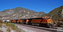 2014-09-01 San Bernardino CA BNSF7762 ES44DC (maximaguy97) Tags: train railroad locomotive ge generalelectric gevo es44dc bnsf bnsf7762 bluecut cajonpass cajonsubdivision sanbernardino california