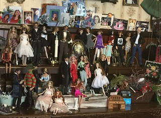 Dolls in the Dining Room...