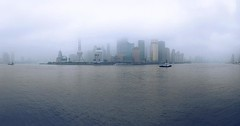 City in the heavy rain #thebund #外滩 #上海 #shanghai #phoneonly #rain #onlyphone #onlyiphone (Lawrence Wang 王治钧) Tags: city heavy rain thebund 外滩 上海 shanghai phoneonly onlyphone onlyiphone
