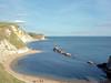 Jurassic coastline, Dorset (davehyper) Tags: mamiya 645 super sekor c 55mm lens kodak plustek opticfilm 120 f16 1125sec jurassic coast 100 ektar davehyper steamer dave chapman dj