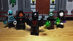 Bats Beyond (LordAllo) Tags: lego dc batman beyond dcau terry mcginnis shriek spellbinder blight inque