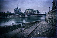 Notre Dame (Jim Nix / Nomadic Pursuits) Tags: 2470mm analogefexpro europe france jimnix lightroom luminar macphun nomadicpursuits notredame paris riverseine sony sonya7ii strasbourg antique architecture culture grain history landmark travel vintage