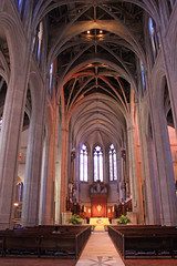 Tall Ceilings (JB by the Sea) Tags: sanfrancisco california april2017 urban nobhill gracecathedral church gothic frenchgothic