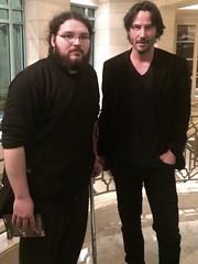 Keanu Reeves and I! (TheSamuelYears) Tags: keanureeves winnipeg wpg actor thematrix johnwick billtedsexcellentadventure neo thematrixreloaded constantine thematrixrevolutions thedevilsadvocate thedaytheearthstoodstill