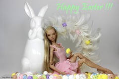 Happy Easter Everyone !!! :-) (meg fashion doll) Tags: happy easter everyone