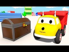 Arca do tesouro : Aprendem as formas com Ethan, o Caminhão Basculante | Desenho Animado Educativo (portalminas) Tags: arca do tesouro aprendem formas com ethan o caminhão basculante | desenho animado educativo