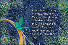 Making a Wish (Carl Kitzke) Tags: hope wish love family friends happiness health digitalart carlklitzkeart