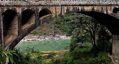NEPAL, Auf dem Weg nach Pokhara, 16019/8279 (roba66) Tags: bus car camion lkw lastwagen auto brücke bridge fluss river rio reisen travel explore voyages roba66 visit urlaub nepal asien asia südasien pokhara