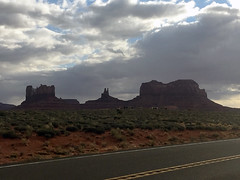Road Trip Day 2 (TMLizzy Irwin) Tags: utah roadtrip clouds weather monumentvalley march2017