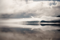 rorschach (Fine Detail Films) Tags: sony mirrorless raw availablelight manual zeiss 35mm f28 fe za lightroom manualprocess splittone cinematic eagleisland canimlake britishcolumbia reflection mountains clouds rorschachtest inkblot dreamscape visions hyperreality art fineart arttrumpsmoney