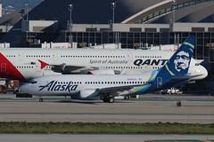 N615AS-LAX-06-03-2017 (swbkcb) Tags: lax klax alaska b737 n615as losangelesinternationalairport