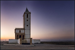 iglesia cabo de gata (bit ramone) Tags: almería andalucia spain españa church iglesia mar sea mediterráneo playa beach atardecer sunset bitramone cabodegata