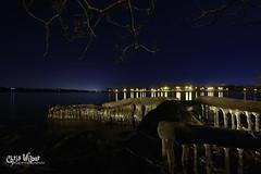 Crystal Night (wilbias) Tags: ontario park canada lake water night long ice exposure bay hamilton bayfront