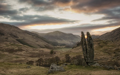 The Praying Hands (Katherine Fotheringham) Tags: praying hands glen lyon fionns rock valley sun god