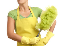 springcleaning2 (lianamccurdy) Tags: caucasian chores cleaning duster dusting featherduster girl green housecleaning housework housekeeper housewife maid sweeper sweeping white woman women